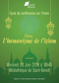 "Conférence ""L'Humanisme de l'Islam"""