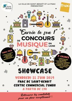 Showcase Fête de la musique !