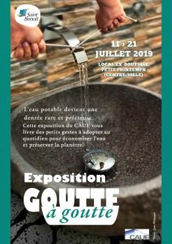 """Exposition """"Goutte à goutte"""" : des gestes simples pour préserver l'eau"""
