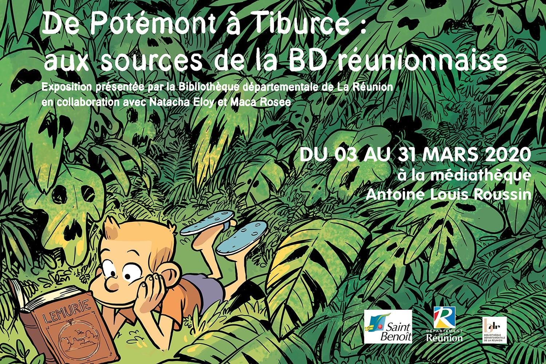 De Potémont à Tiburce : aux sources de la BD réunionnaise