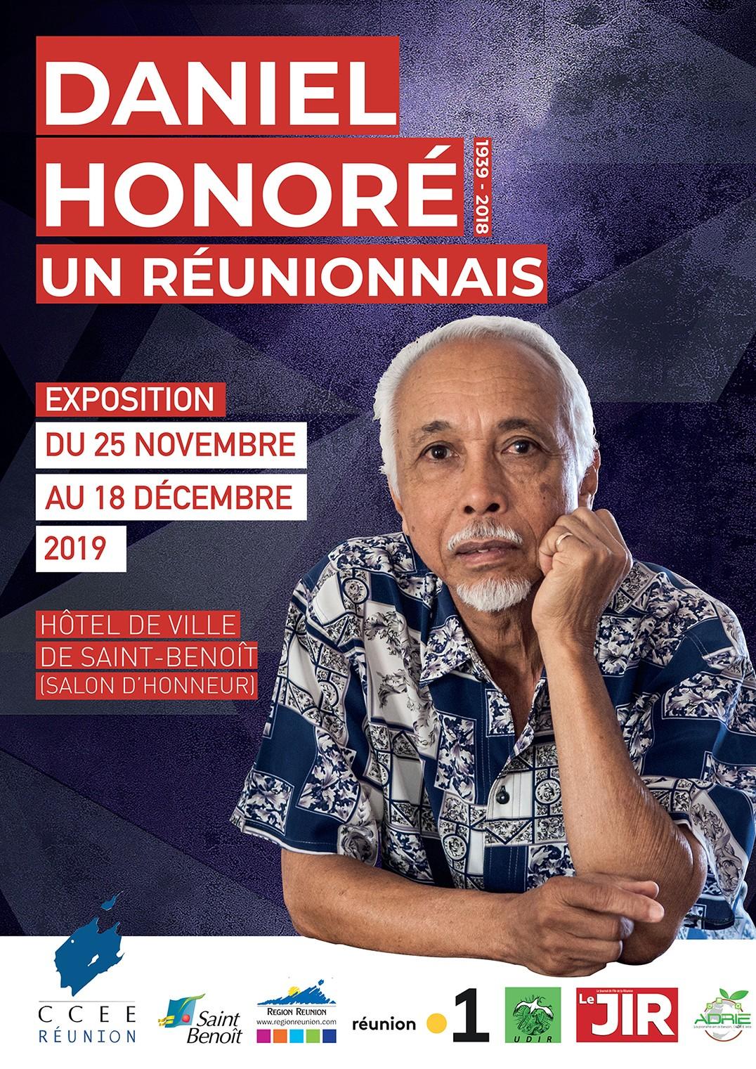 """Exposition """"Daniel Honoré, un Réunionnais"""""""