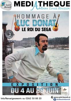 """Exposition """"Hommage à Luc Donat"""""""