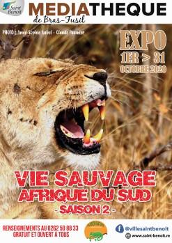"""Exposition """"Vie sauvage Afrique Sud"""" (Saison 2)"""