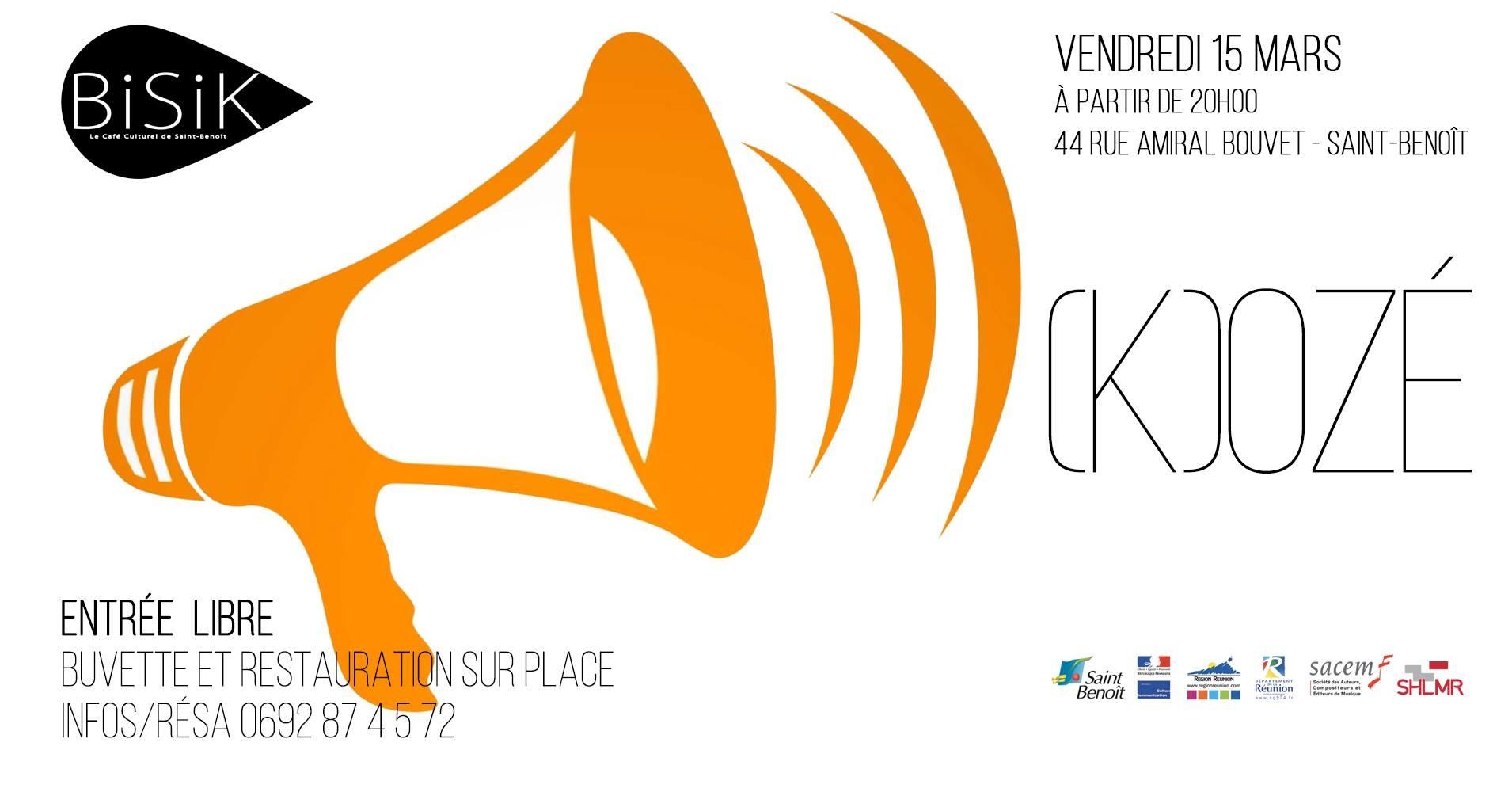 (K)ozé ! : Scène ouverte au Bisik !