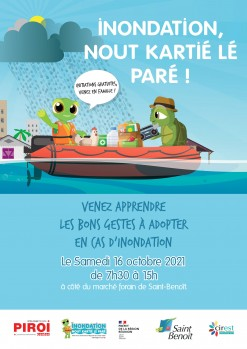 Journée de sensibilisation «Inondation, nout kartié lé paré»