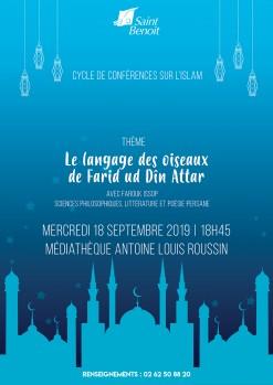 """Conférence """"Le langage des oiseaux de Farid ud Dîn Attar"""""""