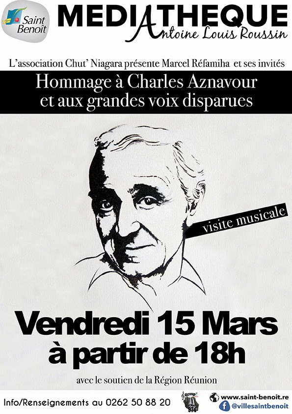 """Spectacle musical """"Hommage à Charles Aznavour"""""""