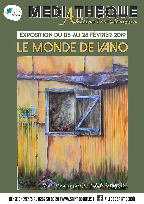 "Exposition ""Le monde de Vano"""