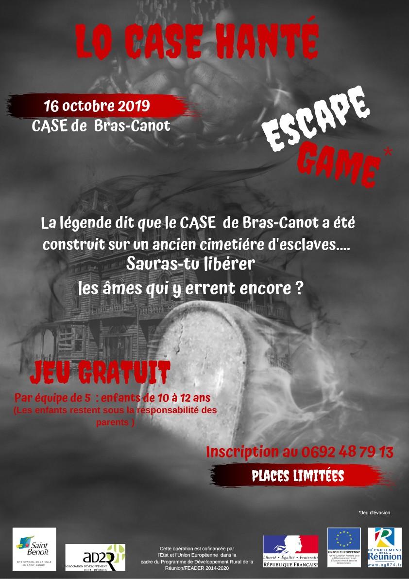 ESCAPE GAME AU CASE DE BRAS-CANOT