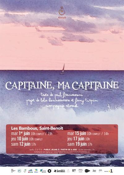 CAPITAINE, MA CAPITAINE