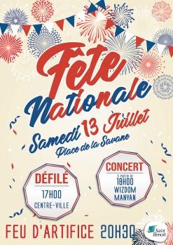 Fête nationale à Saint-Benoît