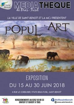 "Exposition ""Popul'Art"""