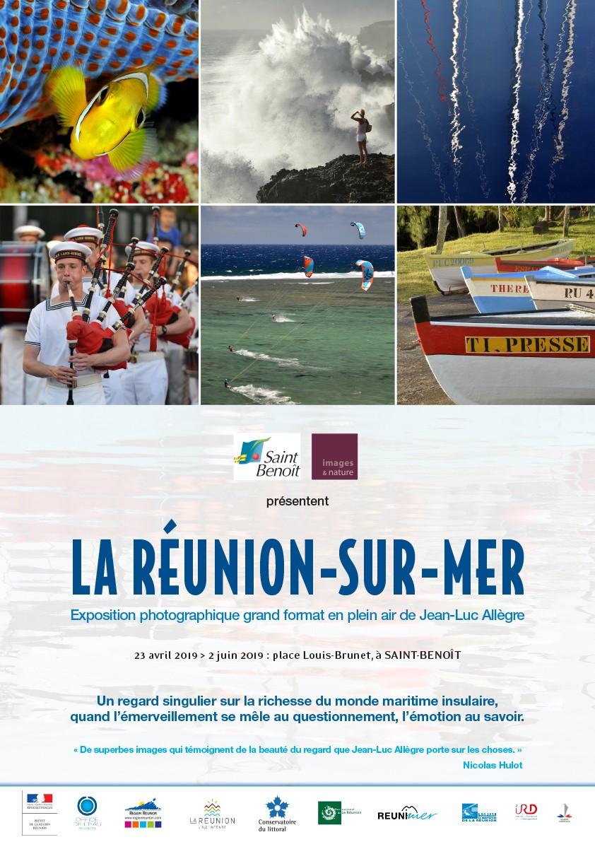 """Exposition """"La Réunion-sur-mer"""" de Jean-Luc Allègre"""
