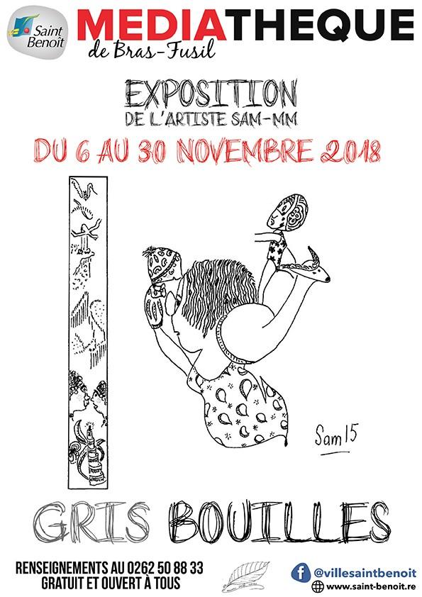 """Exposition """"GRIS BOUILLES"""""""