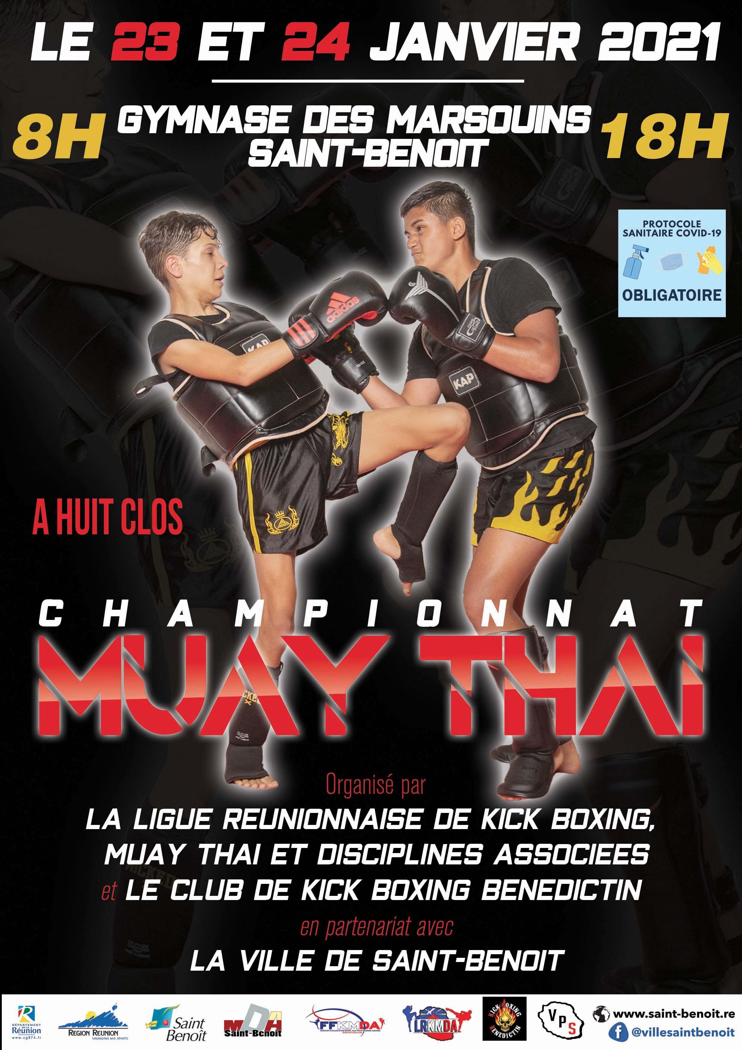Championnat Muay Thaï (huis clos)