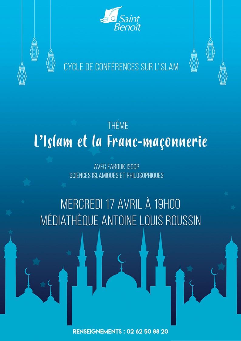 """Conférence """"L'Islam et la Franc-maçonnerie"""" de Farouk Issop"""