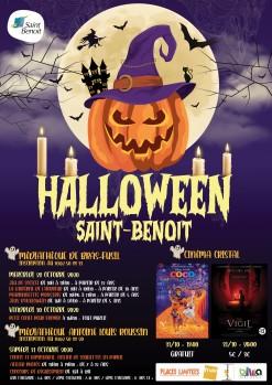 Fêtez Halloween à Saint-Benoît !