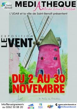 """Exposition """"Le vent"""" de l'UDAR"""