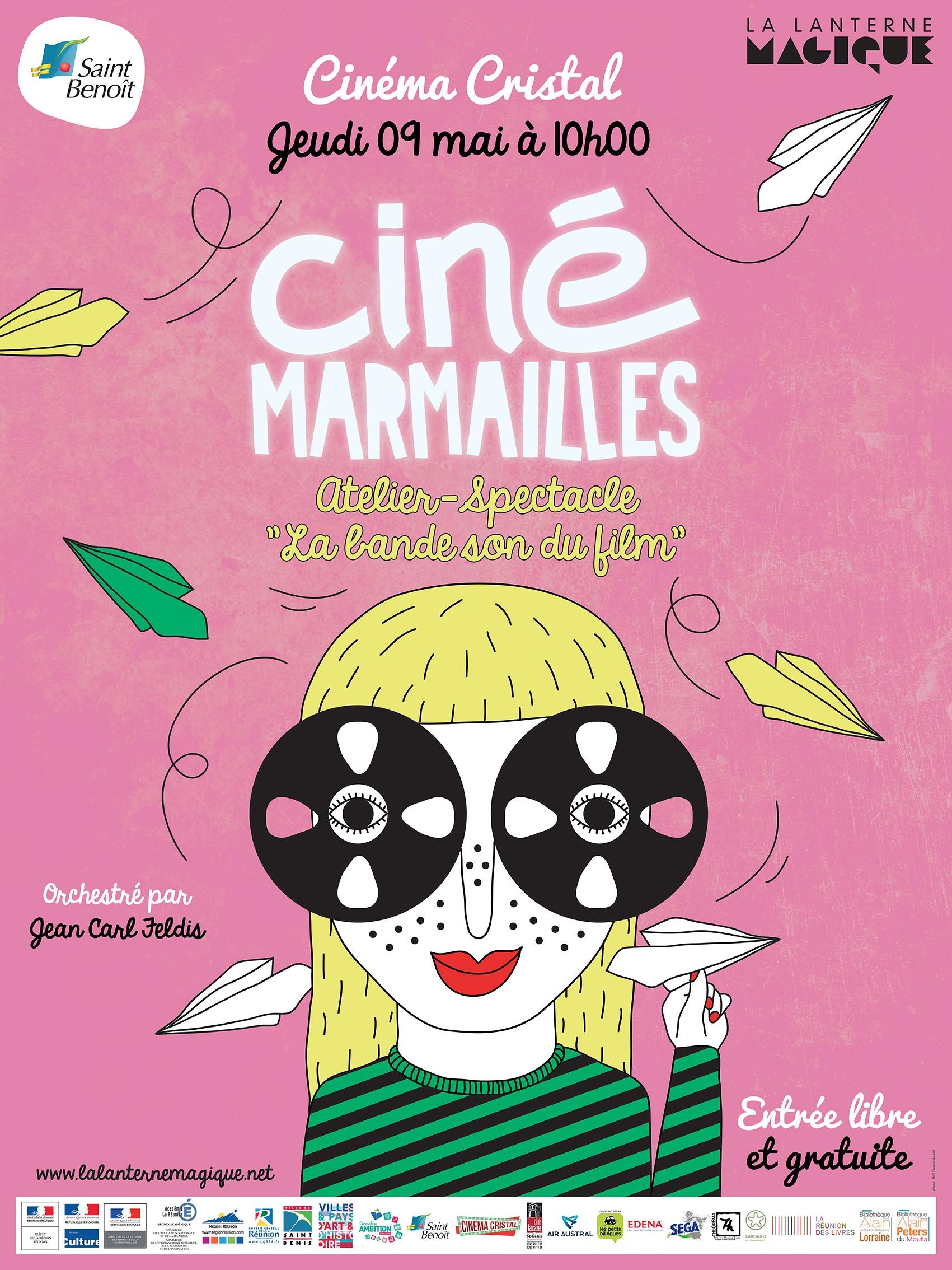 """Cinémarmailles au cinéma Cristal : atelier """"bande son du film"""""""