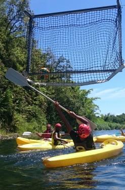 Initiation gratuite au kayak polo et au slalom