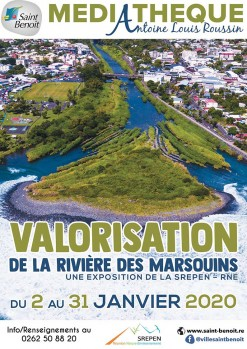 """Exposition """"Valorisation de la Rivière des Marsouins"""""""