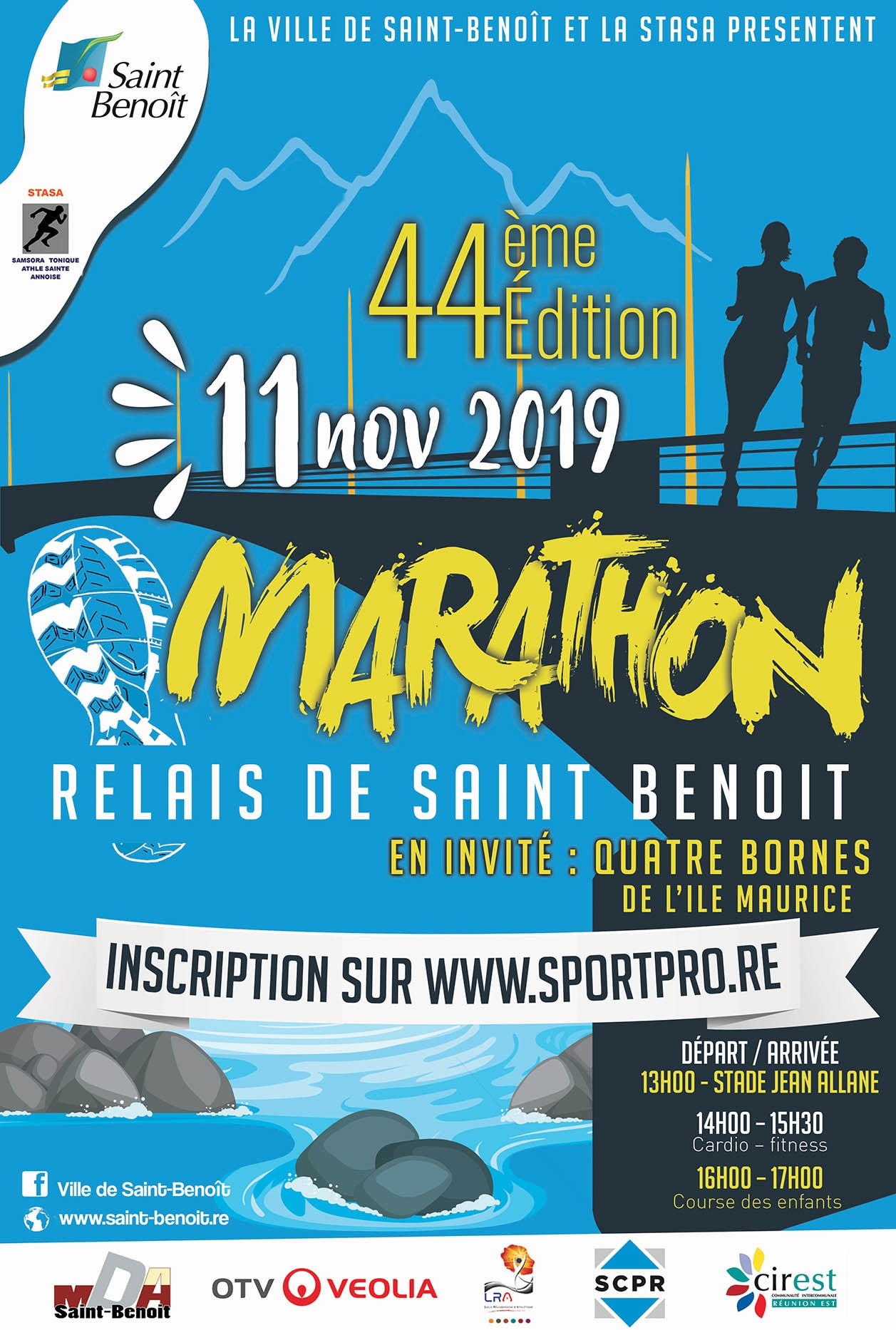 Marathon relais de Saint-Benoît
