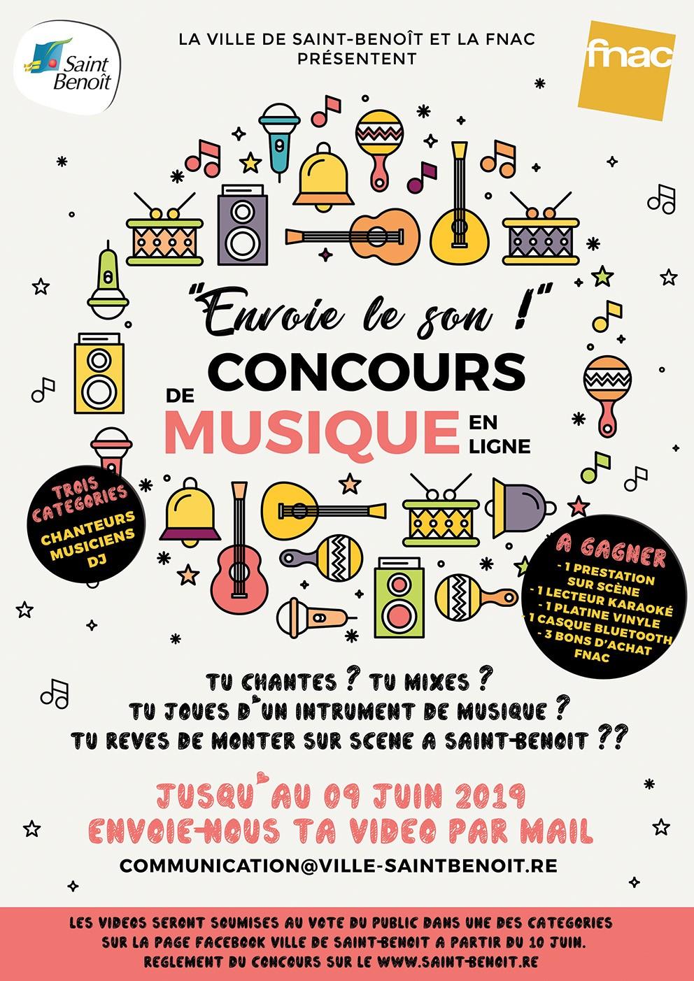 """Fête de la musique : concours """"Envoie le son !"""""""