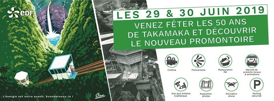 50 ans de l'usine de Takamaka