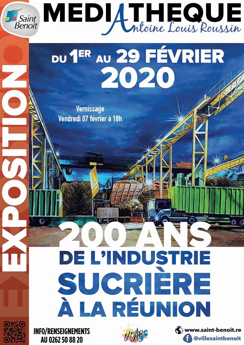 """Expositon """"200 ans de l'industrie sucrière à la Réunion"""""""