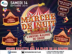 """Marché de nuit """"Bienvenue dans l'univers magique du cirque"""""""