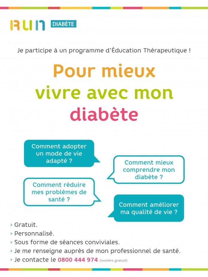 Un programme gratuit et personnalisé pour mieux vivre avec son diabète