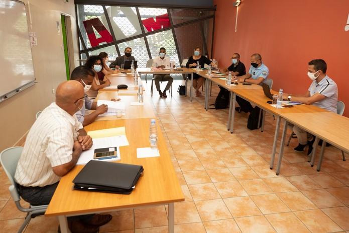 Le CLSPD s'est réunit en comité restreint