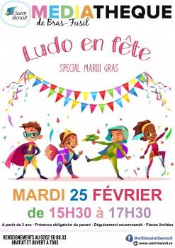 Ludo en fête spécial Mardi Gras : concours du déguisement !
