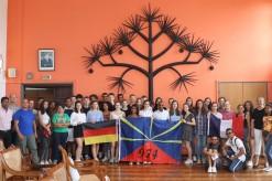 Les lycéens allemands accueillis à l'Hôtel de ville