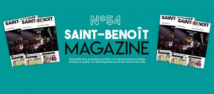 Téléchargez le Saint-Benoît Magazine N°54