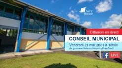 Conseil municipal le vendredi 21 mai à 18h