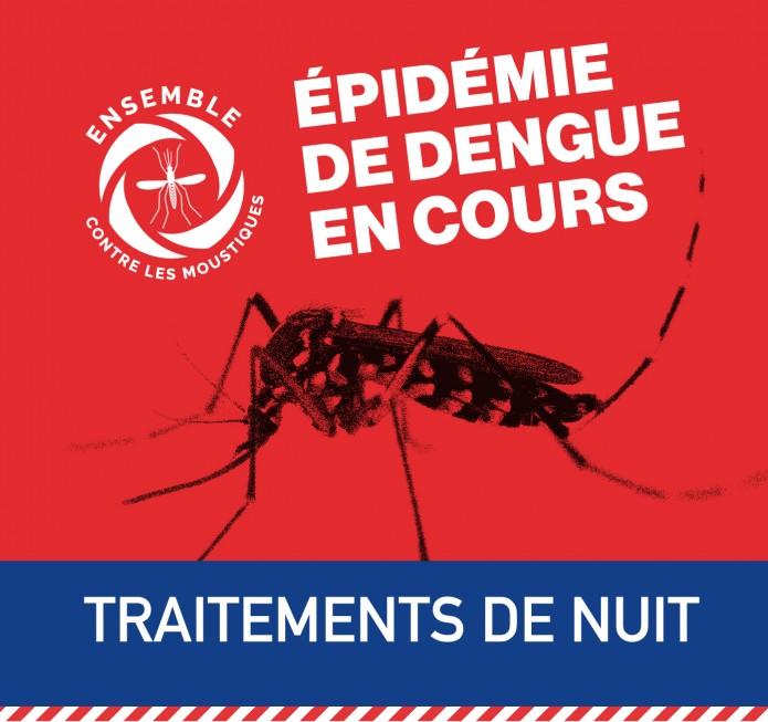 Lutte contre la dengue : traitements de nuit secteur Bras Madeleine