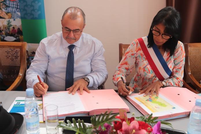 Signature de la Convention Territoriale Globale