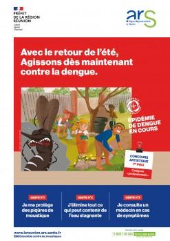 Épidémie de dengue : adoptons les bons gestes !