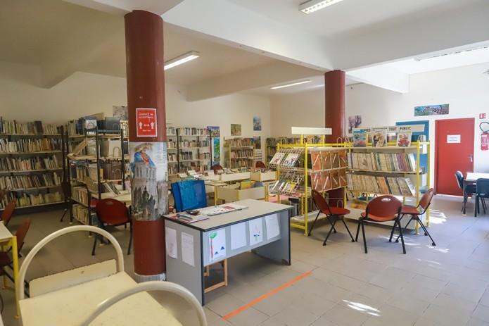 Réouverture de la bibliothèque de Sainte Anne le 23 juin