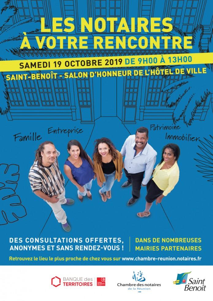 Les Rencontres Notariales de retour à Saint-Benoît !