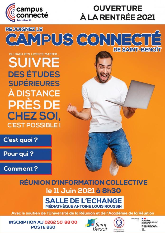 Réunion d'information pour tout savoir sur le Campus Connecté