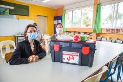 La mairie équipe ses écoles de mallettes de premiers secours
