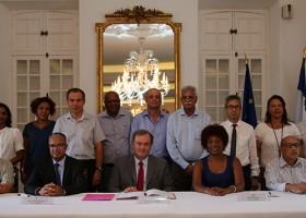 Saint-Benoît signe la charte des engagements réciproques de la Réunion