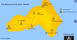 Carte interactive du patrimoine de Saint-Benoît