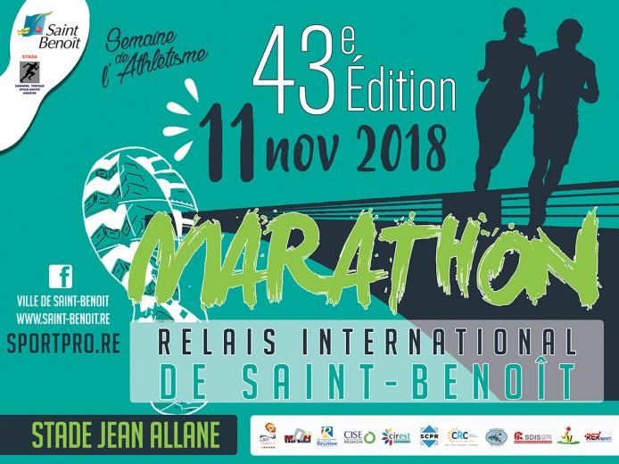 Marathon relais international de Saint-Benoît