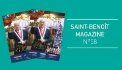 Téléchargez votre Saint-Benoît Magazine N°58