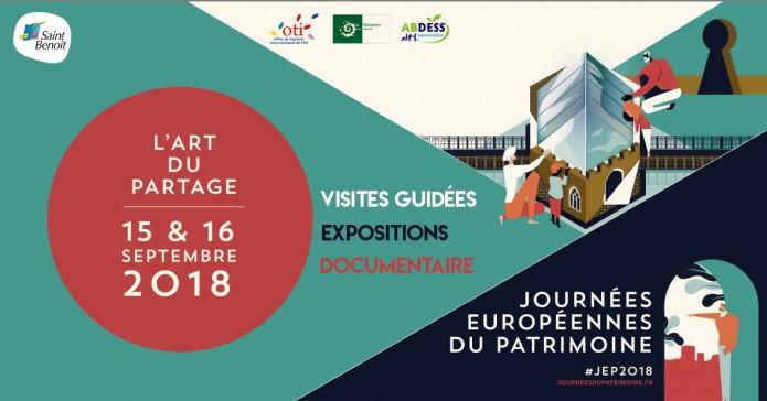 Journées du patrimoine à St Benoît