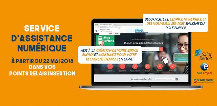 Un service d'aide numérique pour les demandeurs d'emploi
