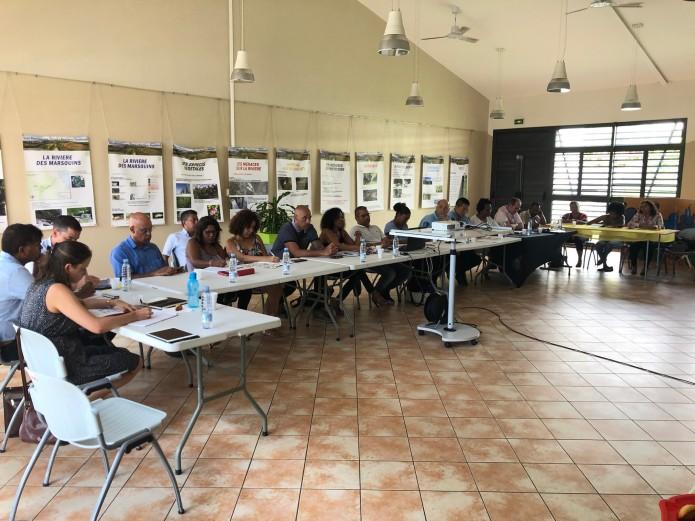 Violences conjugales : 1ère réunion de travail des membres du contrat local